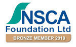NSCA Foundation Bronze Member 2019 logo