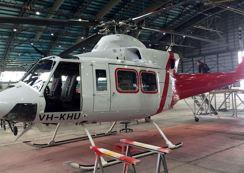 Kestrel helicopter