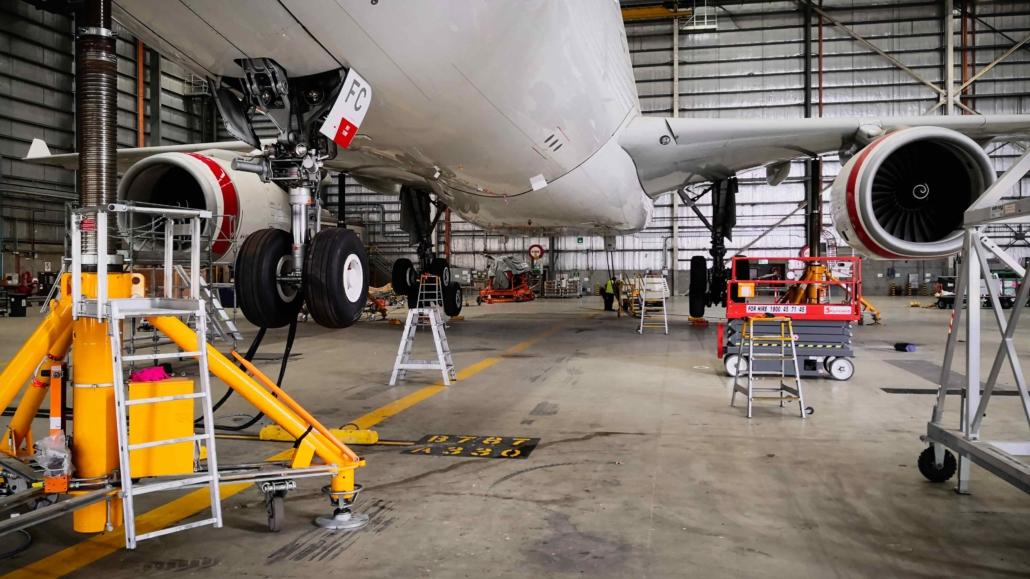 A330 Gear Swings